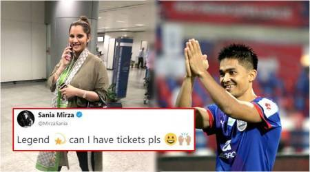 Sunil Chhetri and Sania Mirza's 'give and take' tweets for tickets crack Twitterati up