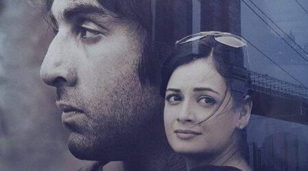 Sanju poster: Dia Mirza looks perfect as Sanjay Dutt's wife Maanayata
