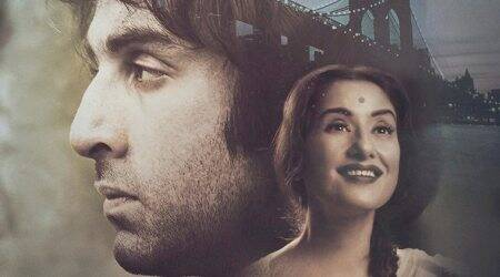 Sanju poster: Manisha Koirala bears a striking resemblance to Nargis