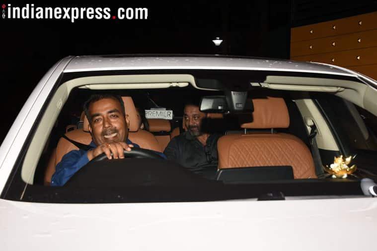 sanjay dutt at sanju screening