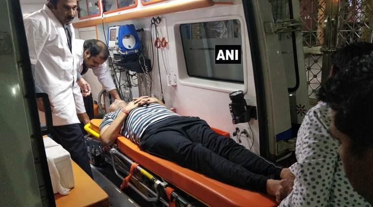 Satyendra Jain hospitalised