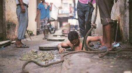 53,000 manual scavengers in 12 states, four-fold rise from last official count