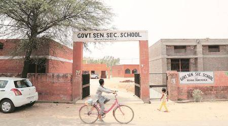 Haryana school teachers blame poor attendance of students and no-detention policy