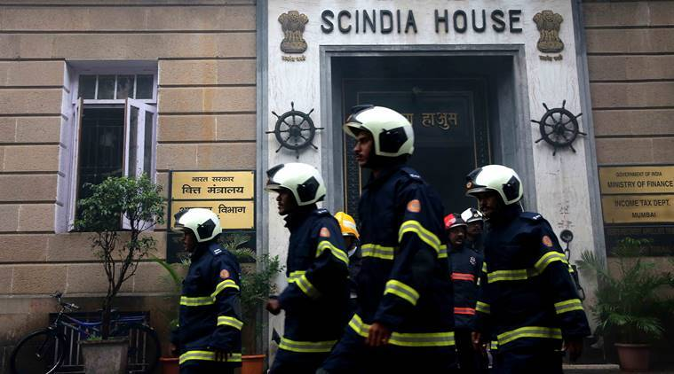 Fire breaks out in Scindia House office in Mumbai's Ballard Estate, no casualties reported