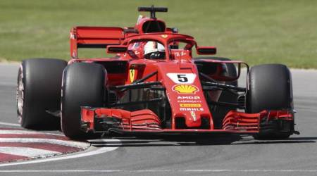 Sebastian Vettel puts Ferrari on pole in Canada