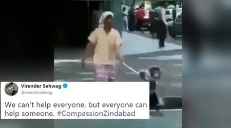 VIDEO: Sehwag's tweet on how helping someone in need should be a priority is a MUST WATCH