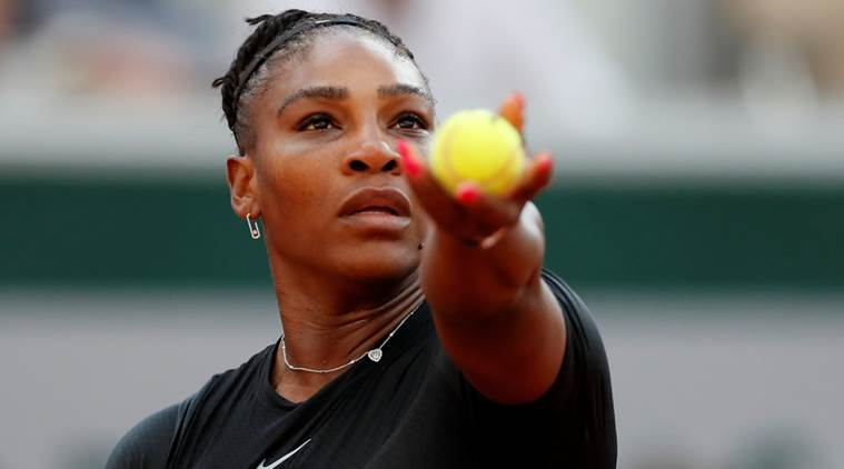 Serena Williams, Serena Williams French open 2018, Serena Williams injury, Serena Williams news, sports news, tennis, Indian Express