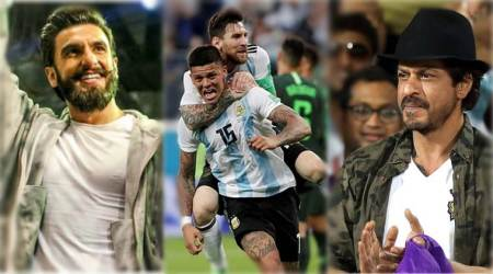 Football World Cup 2018 Argentina vs Nigeria: Maradona adds so much stress to Shah Rukh Khan