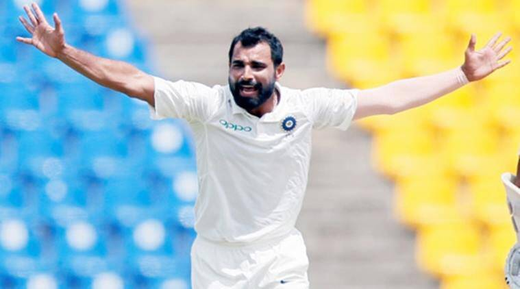 Mohammad Shami, Mohammad Shami India, Mohammad Shami fitness test, Navdeep Saini, India vs Afghanistan, sports news, cricket, Indian Express