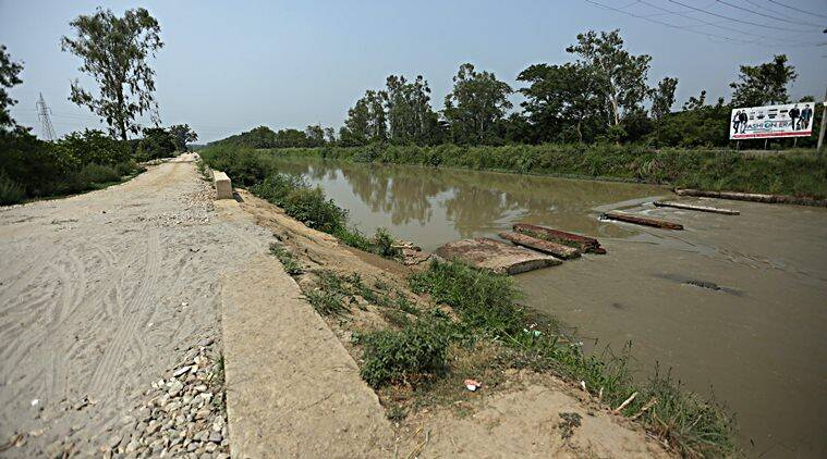 Noida: 7-year-old feared dead after falling into canal