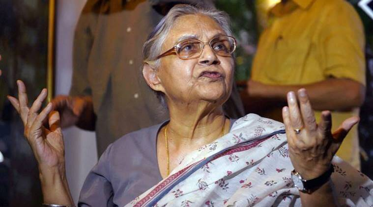 AAP taking credit of Congress' work in Delhi, spreading lies through advertisements: Sheila Dikshit