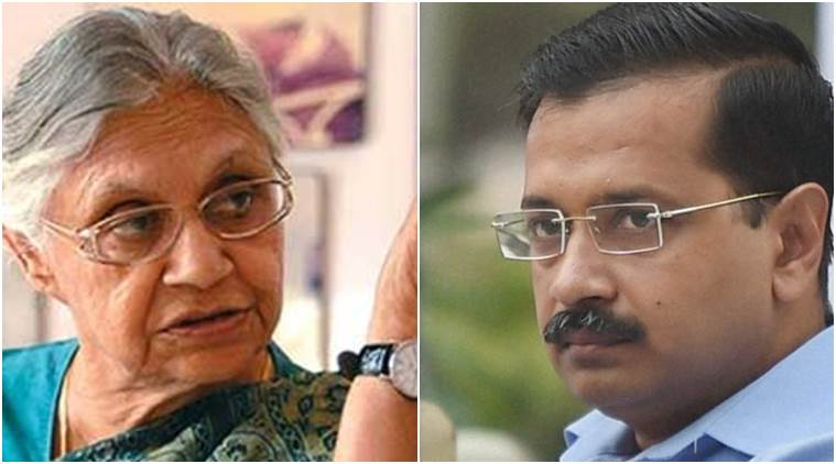 Sheils Dikshit and Arvind Kejriwal fight on delhi statehood
