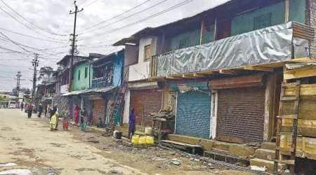 Shillong, Shillong violence, Shillong curfew, Shillong curfew relaxation, Shilong Sikh community, India news, Indian Express news