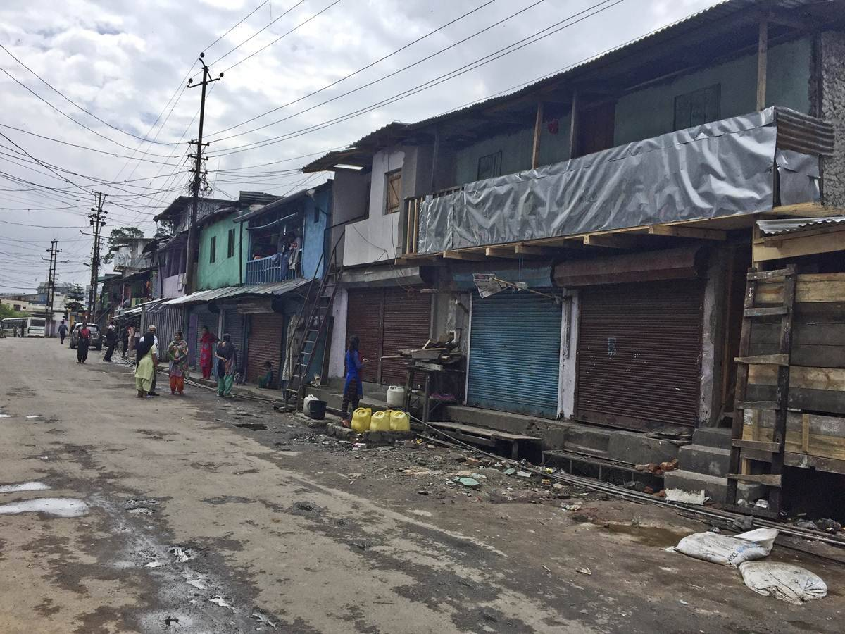 Fenced in by past, Shillong's Punjabi Lane hopes for a clean break