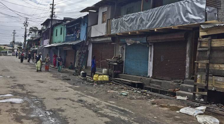Violence-hit Shillong limps back to normalcy