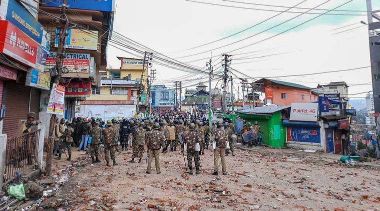 Khasi-punjabi clash: Shillong stays tense, night curfew in place