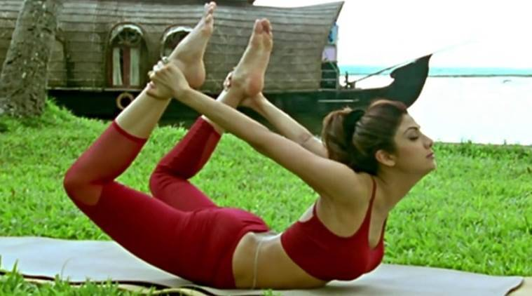 shilpa shetty on international yoga day