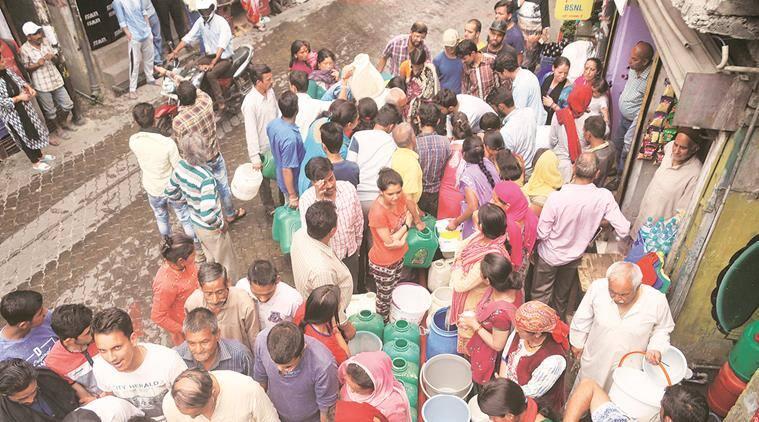 water crisis, haryana, punjab, delhi
