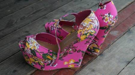 college look, college fashion, wedges, loafers, sneakers, floral wedges, slides, Indian Express, Indian Express News