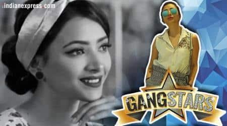 shweta basu prasad in gangstars web show