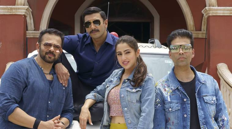 simmba starring ranveer singh and sara ali khan