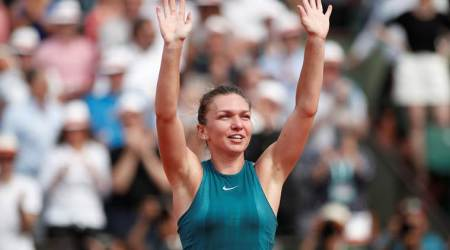 Simona Halep shrugs off Sloane Stephens challenge to win French Open title