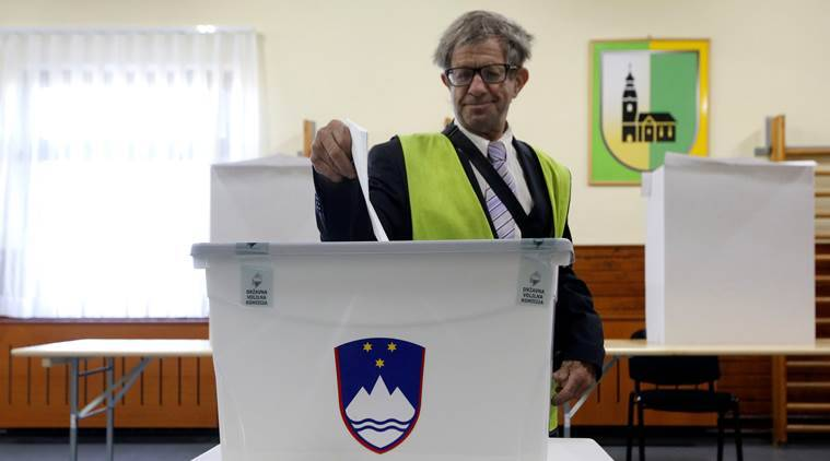 Slovenians vote as anti-immigrant party sees strong support