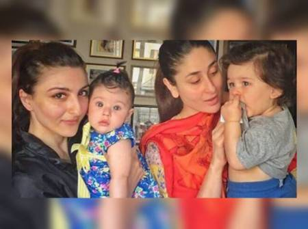 I'm making a conscious effort to not just be a mother, says newbie mother Soha Ali Khan