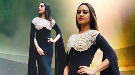 Sonakshi Sinha's glam avatar in this black gown will make you go weak in the knees