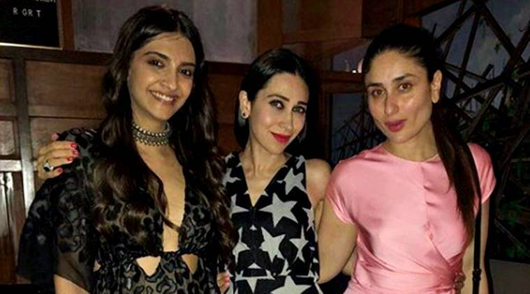 kareena kapoor khan, sonam kapoor, karisma kapoor, veere di wedding, veere di wedding promotions, ritesh sidhwani party, celeb fashion, bollywood fashion, indian express, indian express news