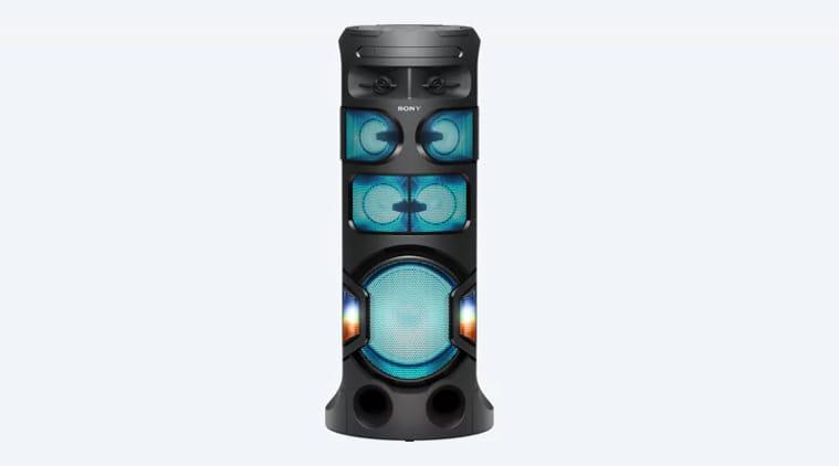 Sony MHC-V81D, Sony MHC-V81D party speaker, Sony MHC-V81D speaker review, Sony MHC-V81D review, Sony MHC-V81D speakers price in India