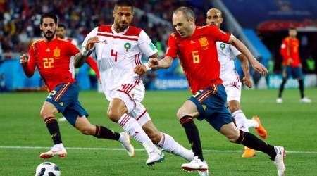 Spain vs Morocco Live Score FIFA World Cup 2018 Live Streaming: Spain 1-1 Morocco at half time