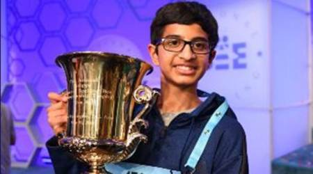 Indian-American boy wins National Spelling Beetitle