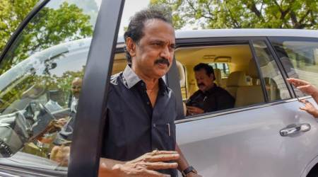Chennai: DMK's Stalin detained along with 400 others for protesting against TN Governor