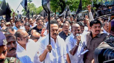 Raj Bhawan threatens 7 yrs imprisonment for protestors: Opposition condemns statement, DMK to protest again