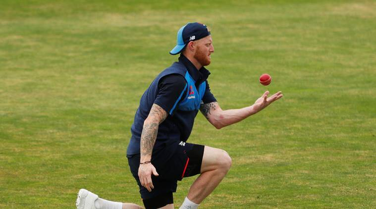 England's Ben Stokes during training at Headingley, Leeds