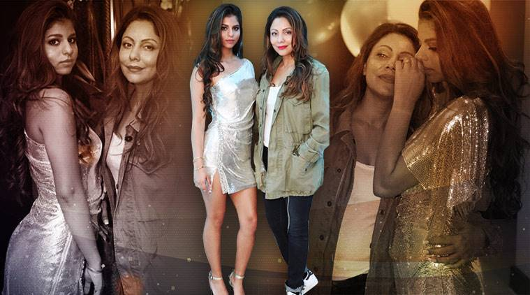 Suhana Khan, Suhana Khan latest photos, Suhana Khan fashion, Suhana Khan Monisha Jaising, Suhana Khan silver mini, Suhana Khan Gauri Khan photos, indian express, indian express news