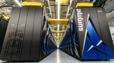 Supercomputer, Oak Ridge National Laboratory, fastest supercomputer, calculation speeds, supercomputer processing power, graphics processing, AI-optimised system, machine learning, bioenergy
