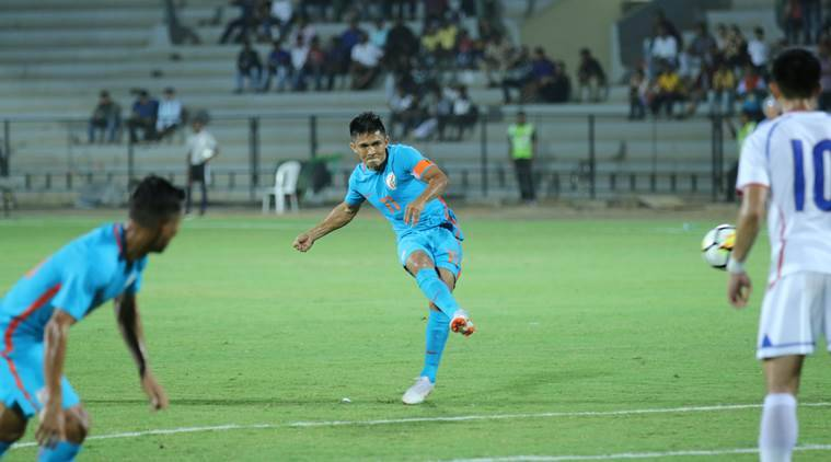 India vs Taiwan, Intercontinental Cup, Intercontinental Cup news, Intercontinental Cup updates, Sunil Chhetri, sports news, football, Indian Express
