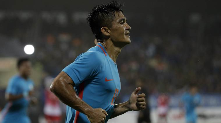 Sunil Chhetri, Sunil Chhetri India, India Sunil Chhetri, Sunil Chhetri news, Sunil Chhetri updates, Sunil Chhetri goals, sports news, football, Indian Express