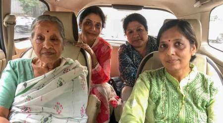 Along with Sunita and Kejriwal's mother, the wives of Sisodia and Jain had gone to meet the ministers.
