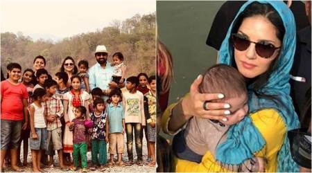 Sunny Leone starts shooting for Splitsvilla 11 after visiting Amritsar with kids Noah and Asher