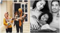 Sunny Leone and Daniel Weber's Father's Day posts go viral
