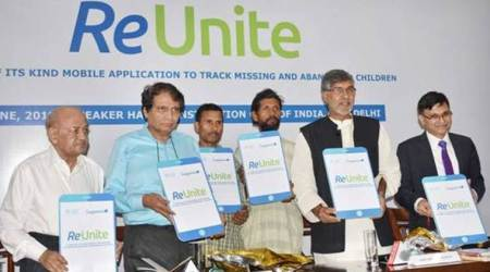 Suresh Prabhu launches mobile app ReUnite to trace missing, abandoned kids