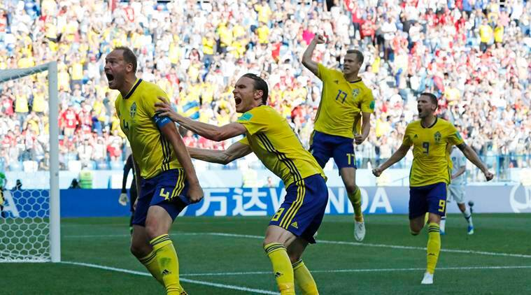 Sweden vs South Korea Live