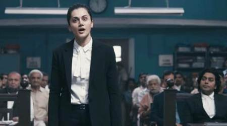 taapsee pannu in a still from mulk