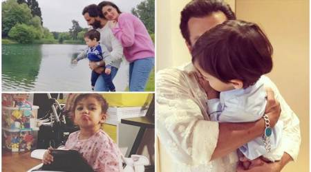 Have you seen these photos of Taimur Ali Khan, Misha Kapoor and Ahil Sharma?