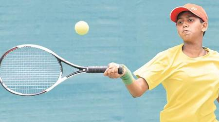 STA-AITA Tennis Tourney City boy Aarav Joshi makes his way to semi-final
