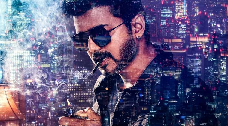 Thalapathy 62 first look: Vijay looks stylish in Sarkar poster. See pic class=