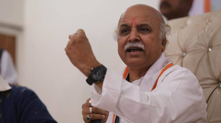 Pravin Togadia, ban on Togadia, Antarashtriya Hindu Parishad, Guwahati, India news, Indian Express news